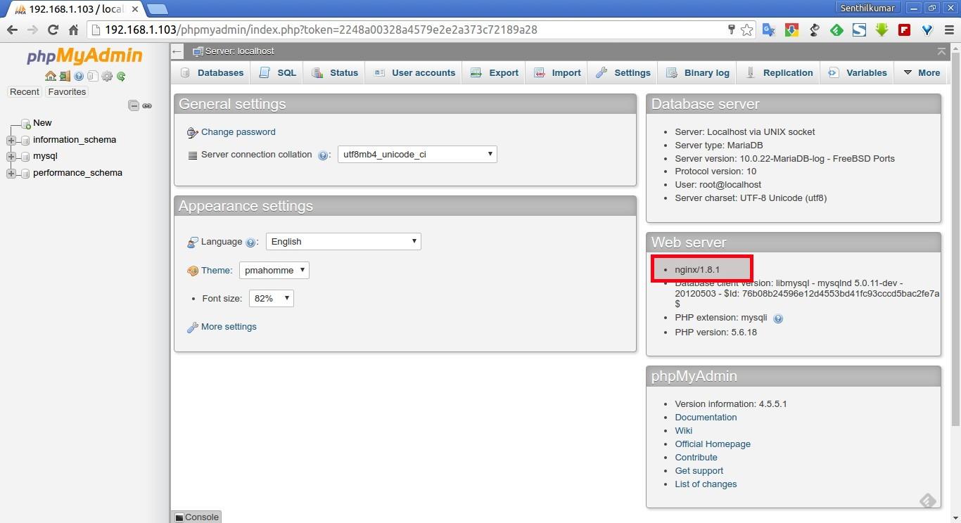 192.168.1.103 - localhost | phpMyAdmin 4.5.5.1 - Google Chrome_002