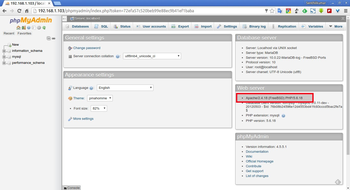 192.168.1.103 - localhost | phpMyAdmin 4.5.5.1 - Google Chrome_005