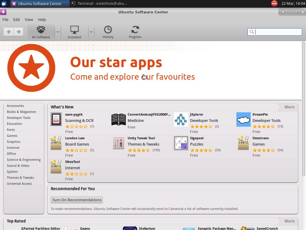 UbuntuBSD software