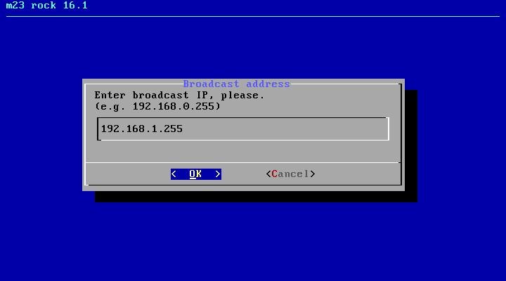m23 server [Running] - Oracle VM VirtualBox_009