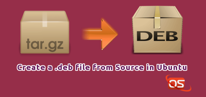 Create A  deb File From Source In Ubuntu 16 04 - OSTechNix