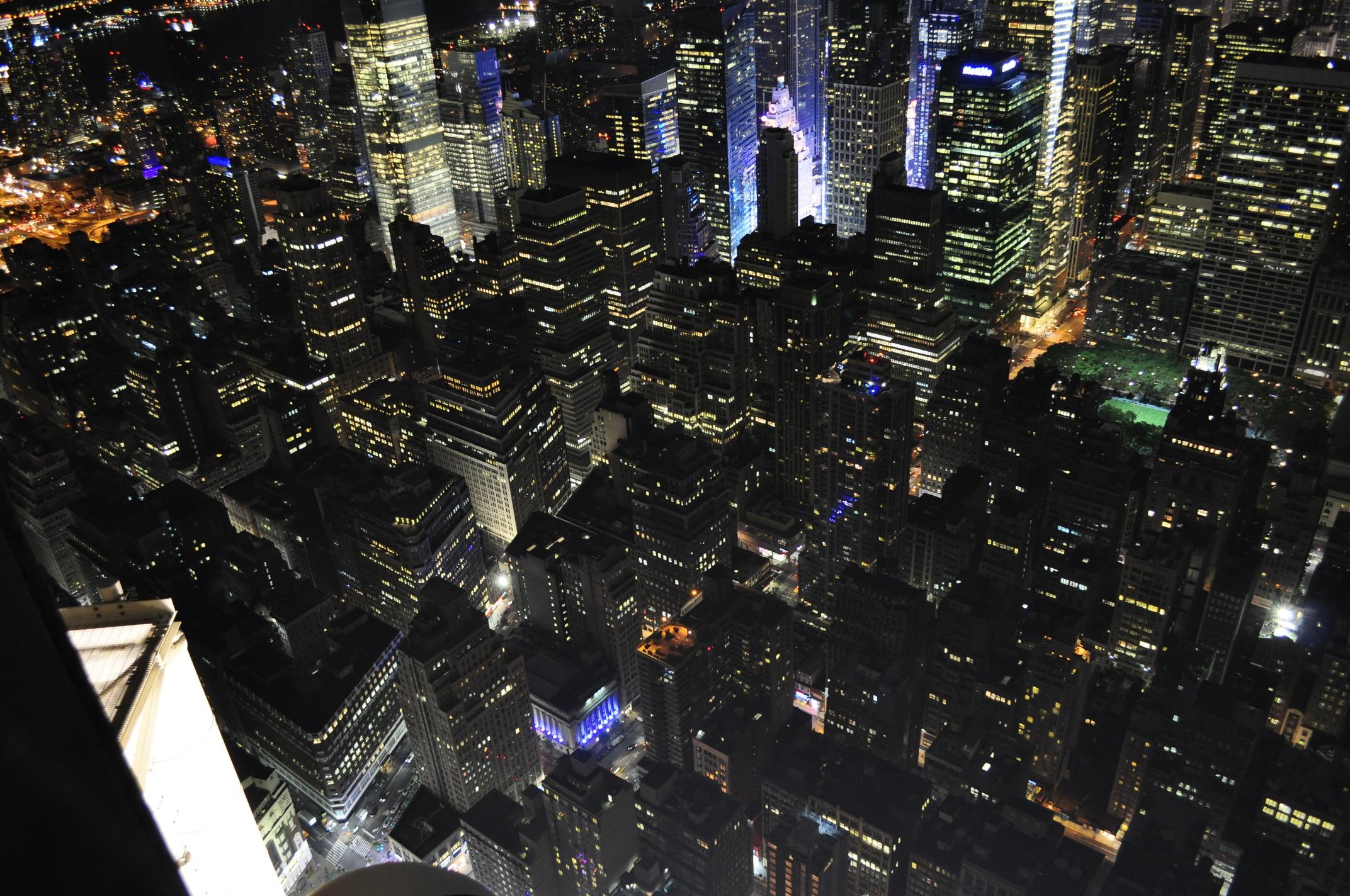 Night lights by Alberto Salvia Novella