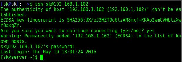 "Fix ""ECDSA host key"" Warning Error In Arch Linux"