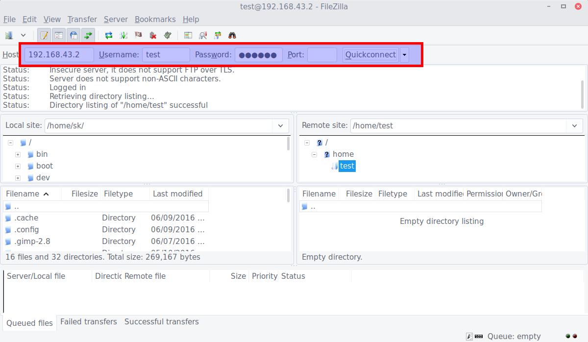 Install Vsftpd Server In Ubuntu 16 04 Lts Ostechnix