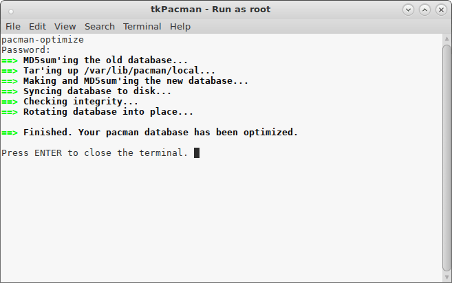 tkPacman-Run-as-root