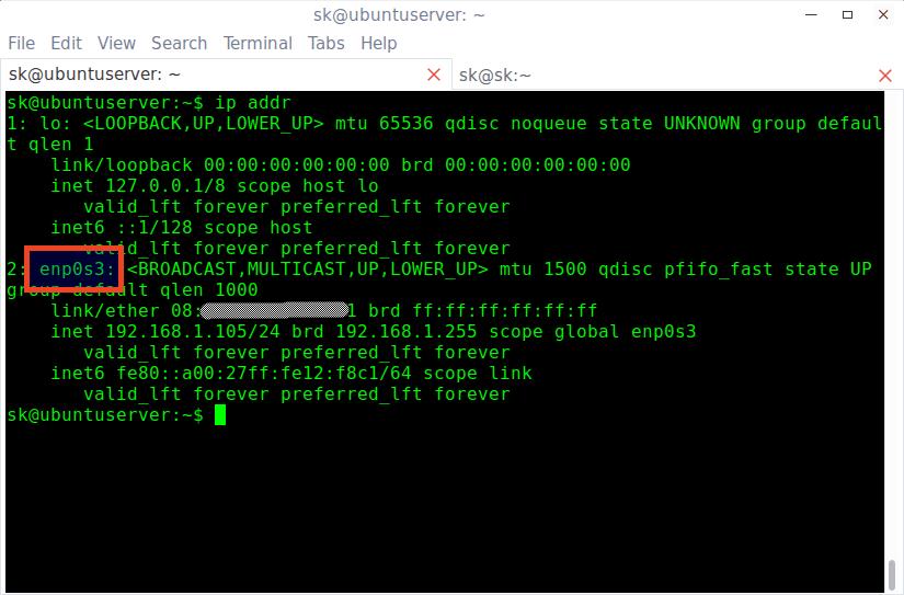 Change mac address 2