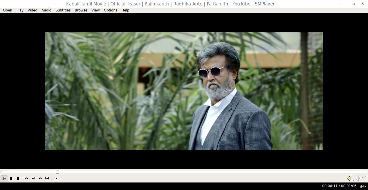 Kabali Tamil Movie | Official Teaser | Rajinikanth | Radhika Apte | Pa Ranjith - YouTube - SMPlayer_006