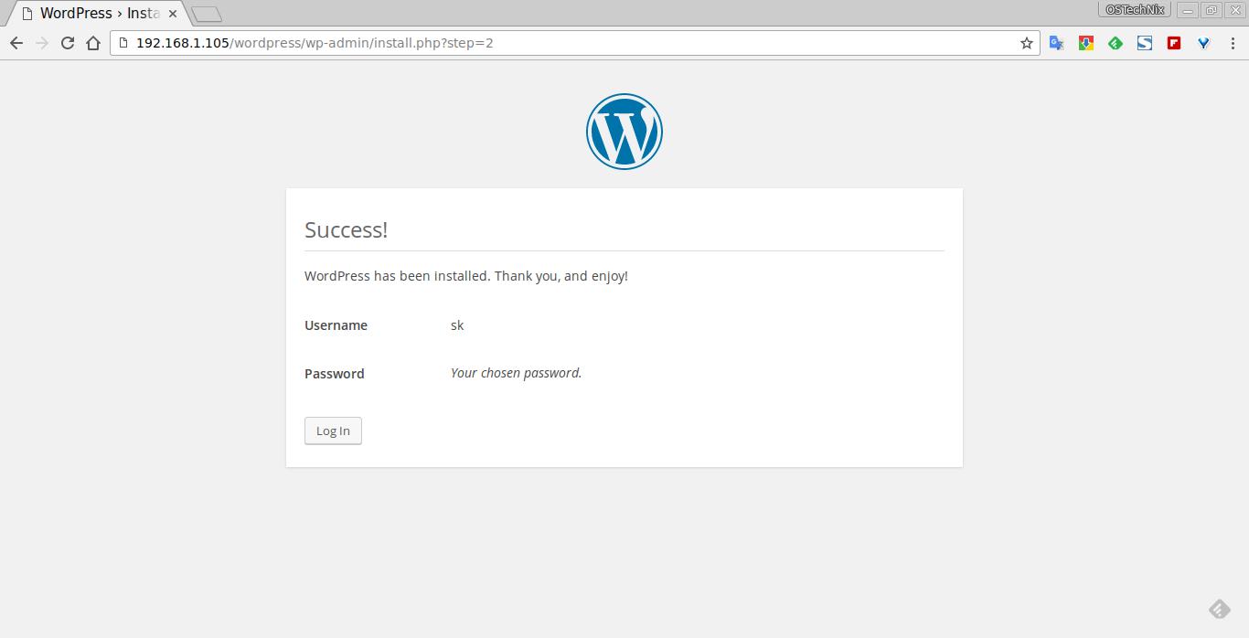 WordPress › Installation - Chromium_006