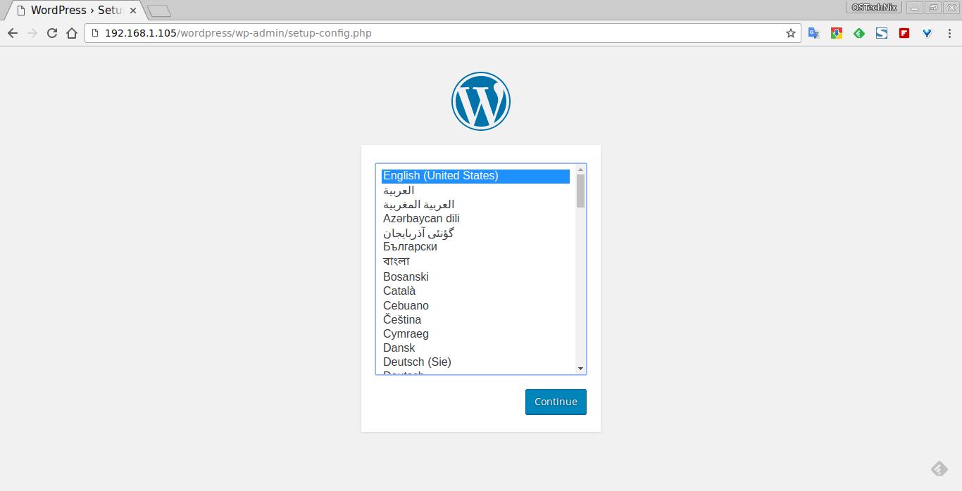 WordPress › Setup Configuration File - Chromium_001