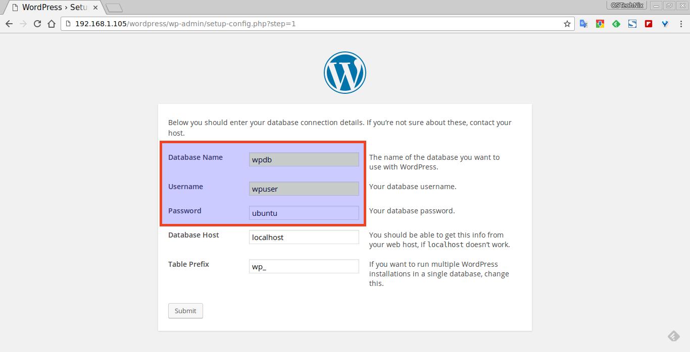 WordPress › Setup Configuration File - Chromium_003