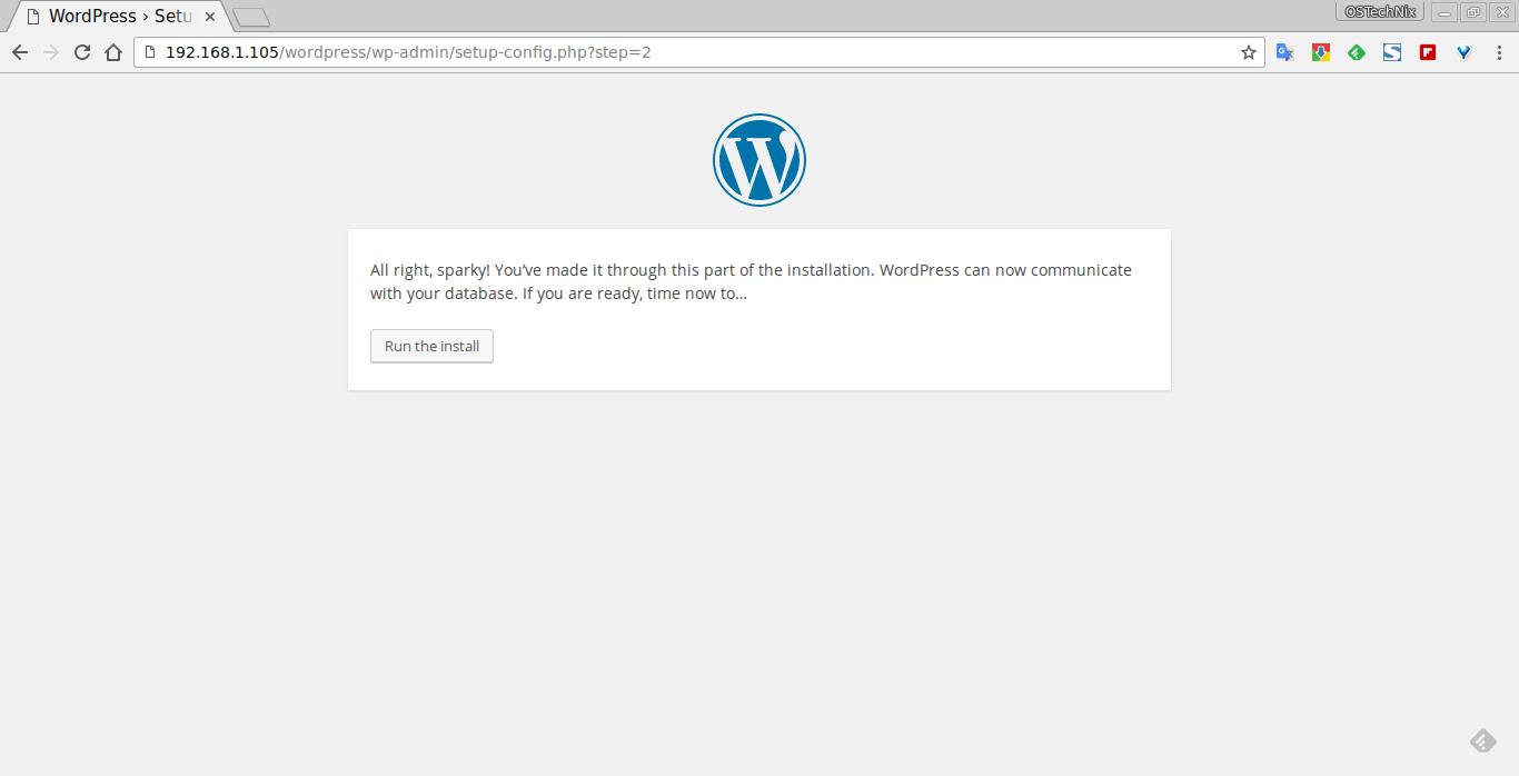 WordPress › Setup Configuration File - Chromium_004