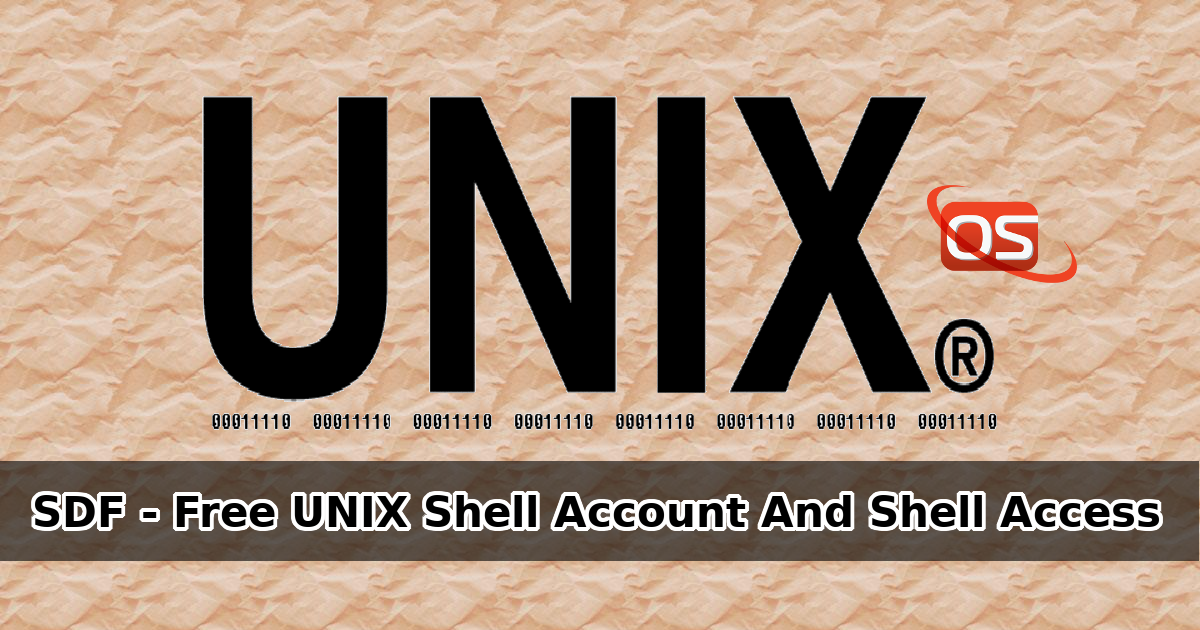 SDF Provides Free Unix Shell Account And Shell Access To All