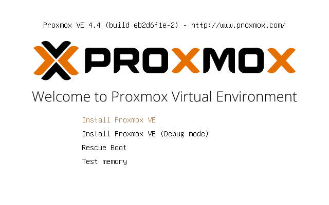 Setup Server Virtualization Environment Using Proxmox VE