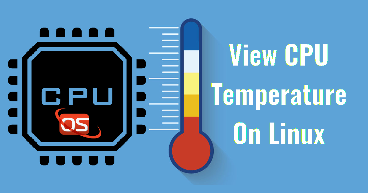 Back Up Sensors >> How To View CPU Temperature On Linux - OSTechNix