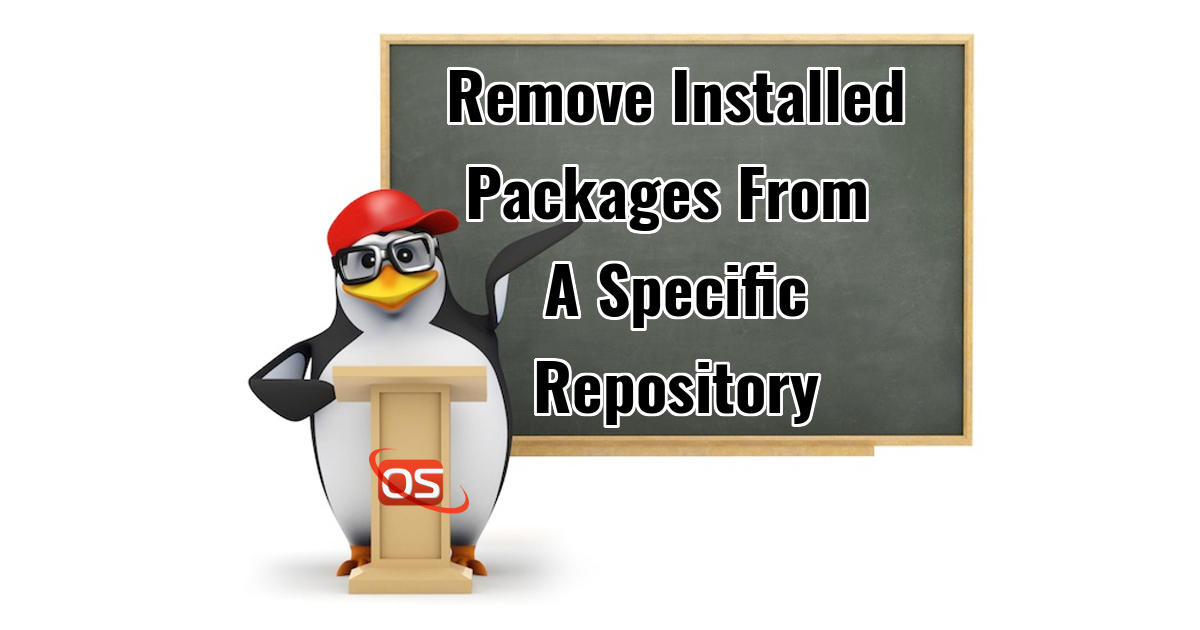 Remove Installed Packages From A Specific Repository In CentOS