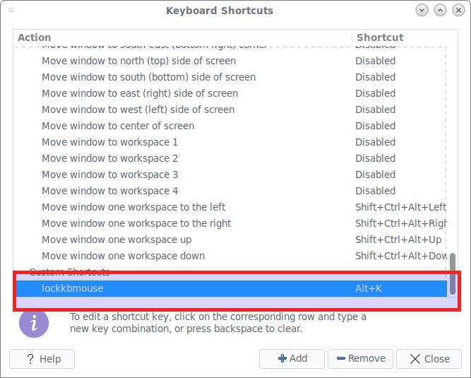 How To Lock The Keyboard And Mouse, But Not The Screen In Linux