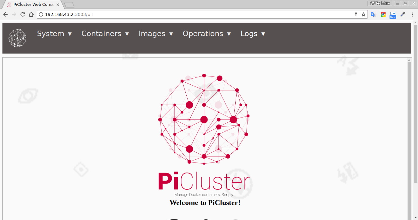 PiCluster Dashboard