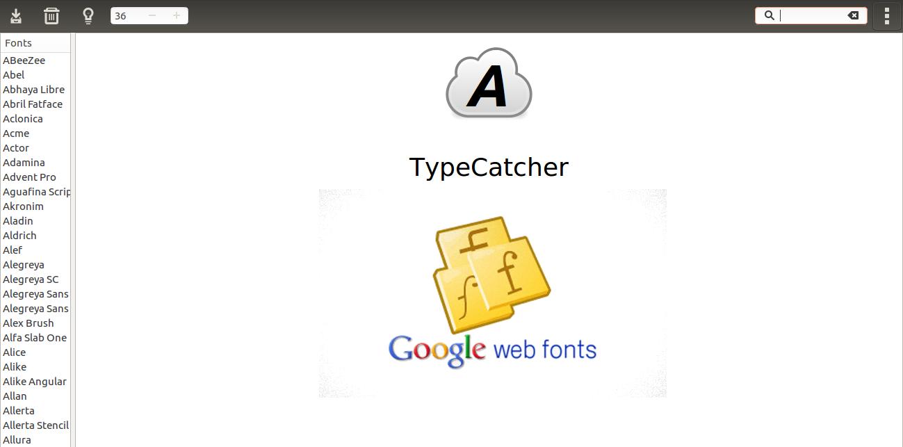 How To Install Google Web Fonts In Ubuntu Ostechnix