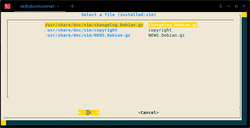 Select manpages of installed or uninstalled packages