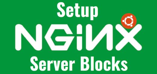 setup Nginx server blocks in Ubuntu