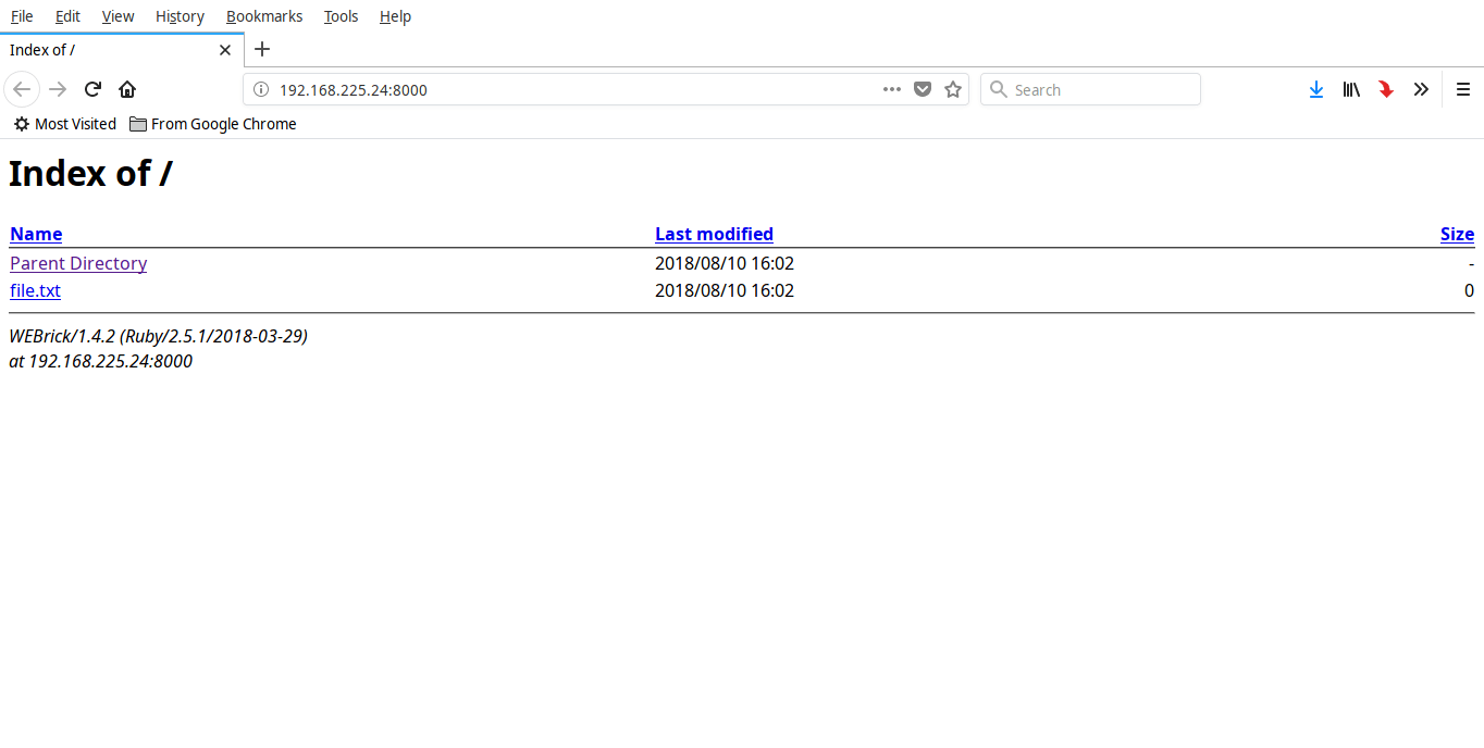 ruby http server