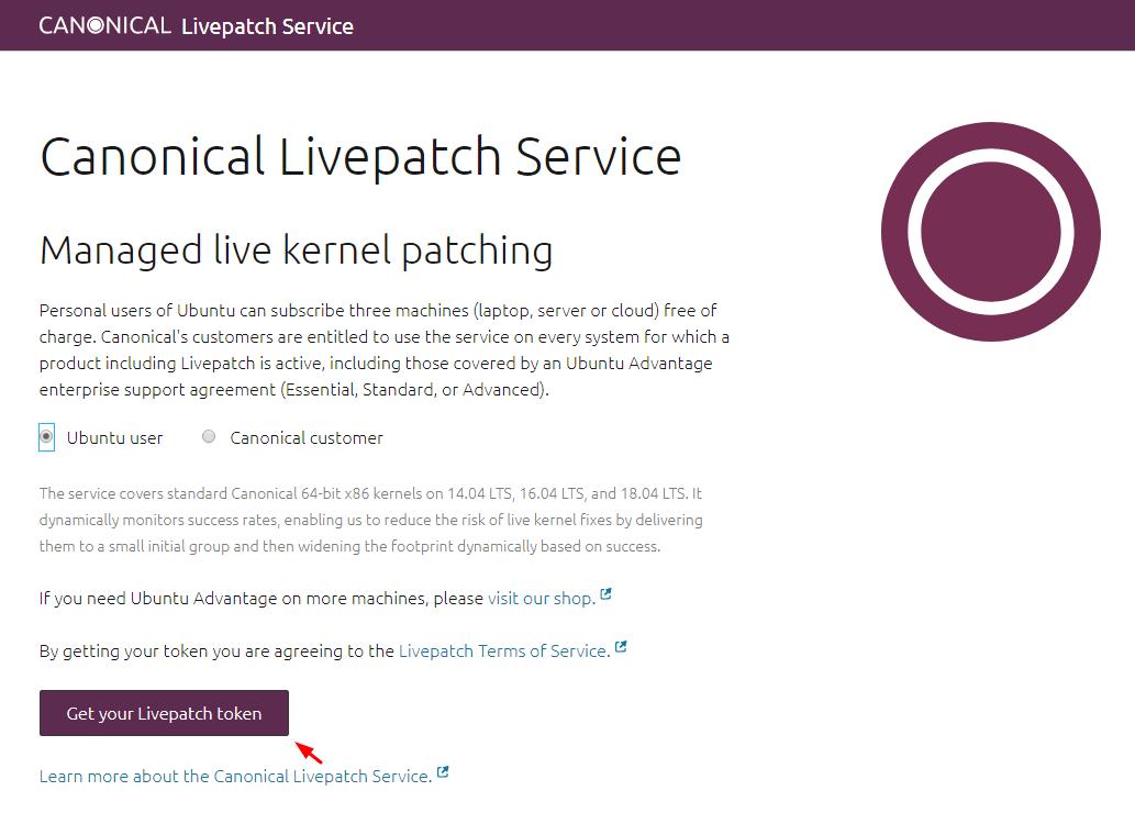 Ubuntu Livepatch