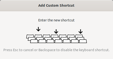 Assign the keyboard shortcut key to xtrlock
