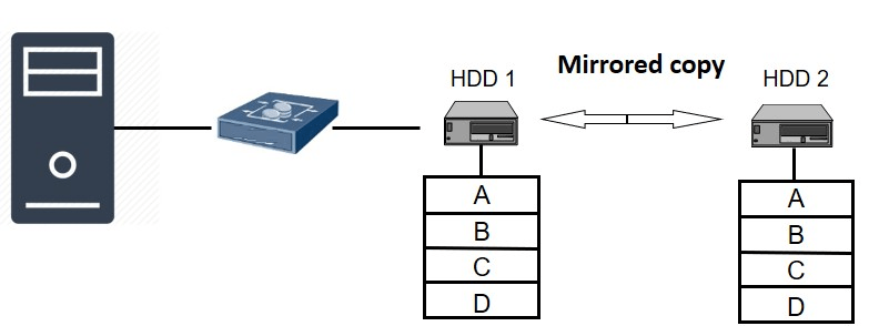 RAID 1 (Data Mirroring)
