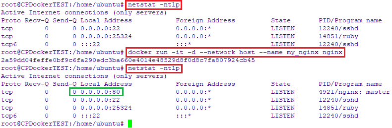 Run containers with host networking