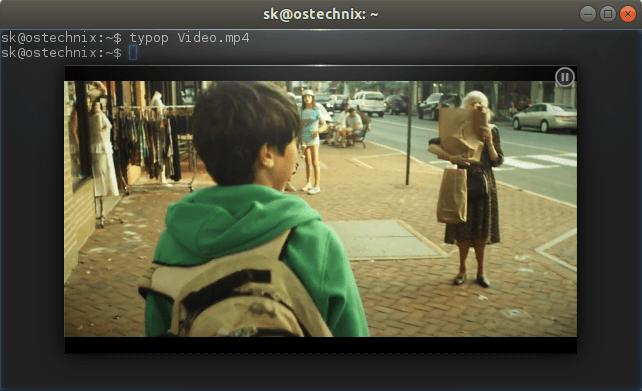 Watch videos in Terminal