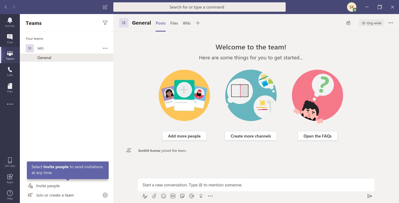 Microsoft Teams Linux Desktop Client