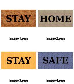 Label montage images