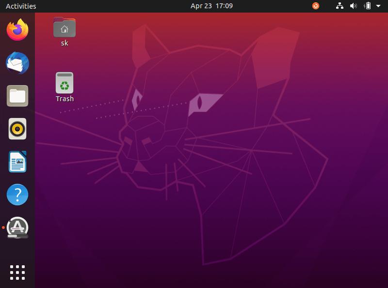 Ubuntu 20.04 LTS Desktop