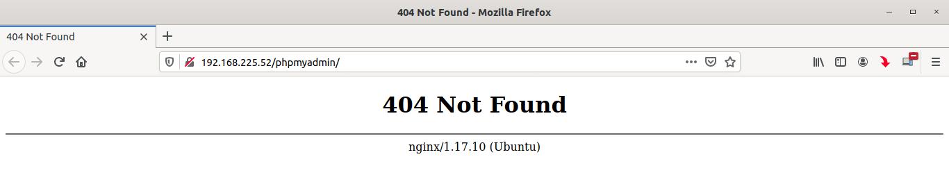 Change phpmyadmin web interface URL