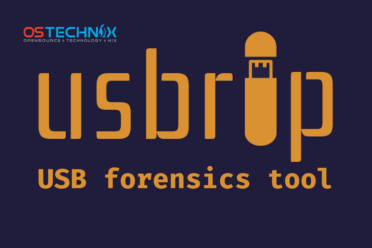 Show USB Devices Event History Using Usbrip In Linux - OSTechNix