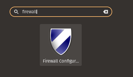 Launch Gufw in Linux