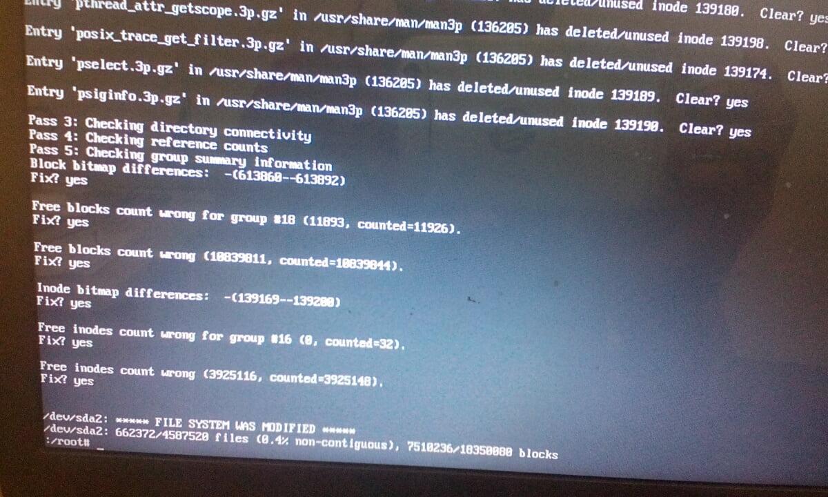 Solve initramfs error in Fedora